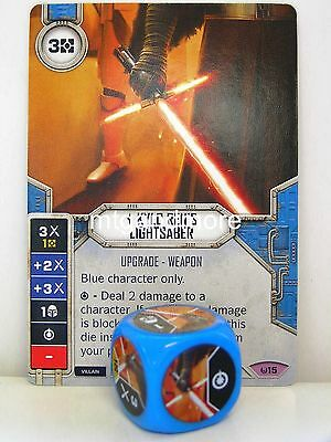 Star Wars Destiny - 1x #015 Kylo Ren's Lightsaber + Die - Awakenings