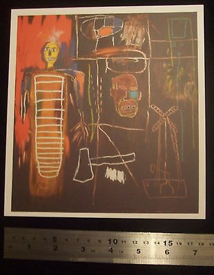 Sotheby's DAVID BOWIE ART COLLECTION - TOP LOT Basquiat 'Air Power' (1984) £7M
