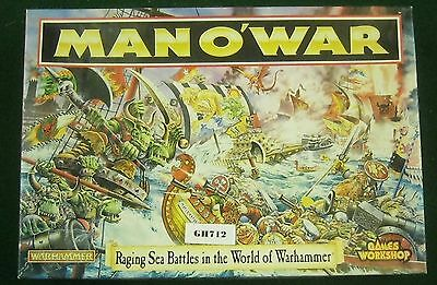 OOP Man O' War Core Game, Appears Complete 1994  Ref GH712