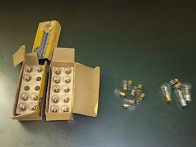 Lot of (30) New Vintage GE General Electric Lamp Light Bulbs 1471 & 44