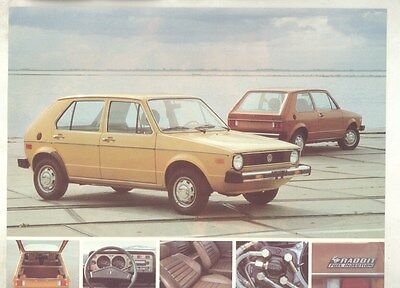 1977 Volkswagen Rabbit Brochure Canada my6839