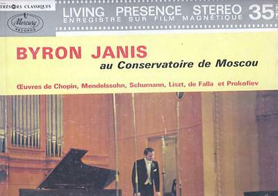 MERCURY AUDIOPHILE JANIS Encore recital at Moscow Cpnservatoire 130.533 MLY RARE