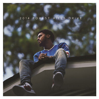 J Cole ‎2014 Forest Hills Drive Vinyl LP Brand New 2015