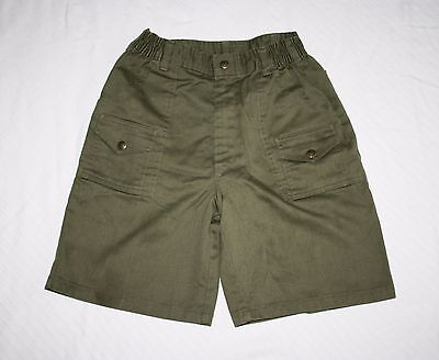 Boys Scouts of America BSA Youth 14 Boys Waist 25 Official Uniform Olive Green