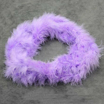 2M Fluffy Feather Boa Flower Craft For Party Wedding Dress Costume Decoration CA