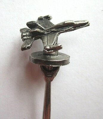 4 Wing Pewter Jet on Collector's Spoon