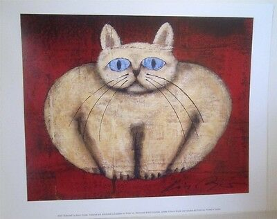 Butterball The Cat Print by Kevin Snyder