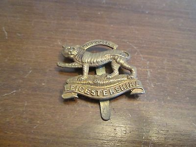 WWI/WWII? British Hindoostan Leicestershire Badge