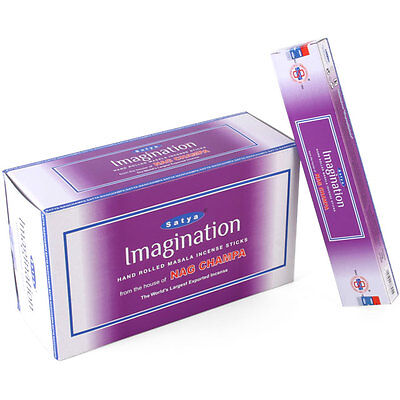 "Nag Champa ""Imagination""  Incense 3x15g boxes of  Incense~uk seller"