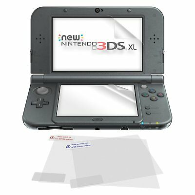 ZedLabz 5 in 1 screen protector pack inc cloth for Nintendo 3DS XL & New 3DS XL