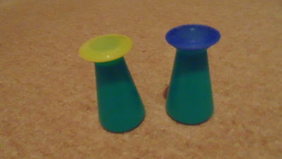 TUPPERWARE Small pouring containers x 2