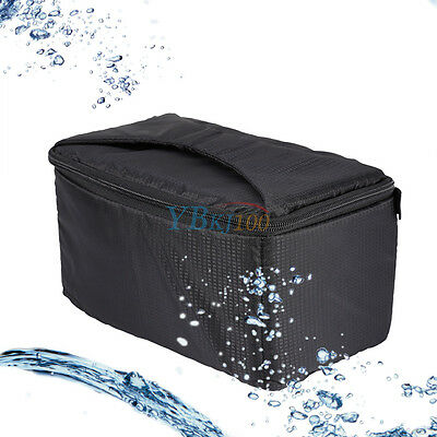 Dustproof Padding Case Insert Protection Bag Pouch EB For DSLR SLR Camera Lens