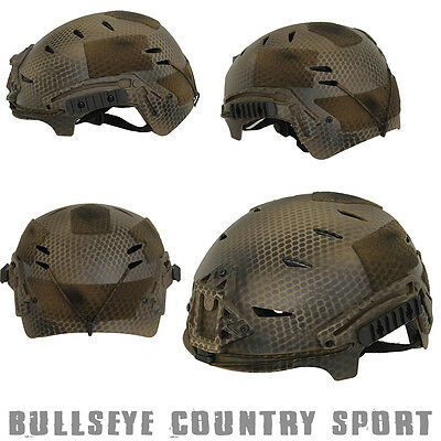Emerson Airsoft Exf Bump Style Fast Helmet Subdued Earth Army Style