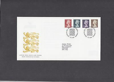 1999 Small Format High Values Royal Mail First Day Cover Bureau handstamp