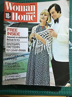 Woman And Home Magazine June 1974 Used No Free Gift