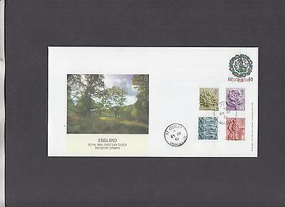 2001 England Pictorials Royal Mail First Day Cover St George's CDS