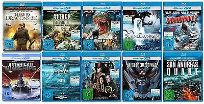 * Die ultimative 3D Blu-ray Collection [FSK 16] NEU+OVP