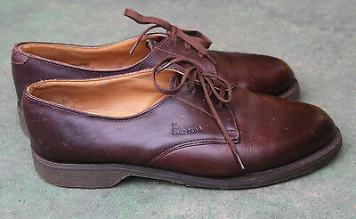 Vintage Dr Martens 1980s Shoes size 4 Made in England brown leather county derby