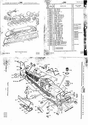 PIPER PA-25 PAWNEE ARCHIVE PARTS MANUAL IPC rare details period archive 1960's