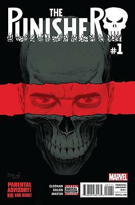 PUNISHER #1 (Marvel 2016 1st Print) COMIC