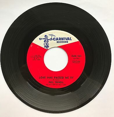 Northern Soul, R & B, Phil Terrell, Love Had Passed Me By