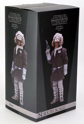 Star Wars SIDESHOW Figur - Captain Han Solo Hoth -  Sixth Scale