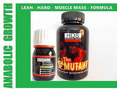 Mutant Russian Anabolic -Strong Legal Testosterone Muscle Booster Huge Gains