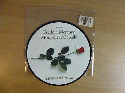 "Freddie Mercury - How Can I Go On,  7"", picture disc single, Vinyl: m-   #1"