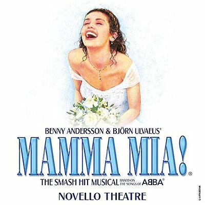 MAMMA MIA Ticket & Meal Package - SPECIAL OFFER with TOP PRICED SEAT