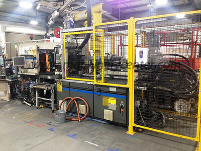 110 Ton, 8 Oz. Cincinnati Milacron Injection Molding Machine '92