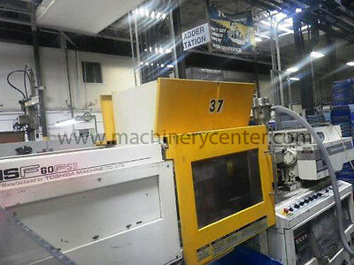 60 Ton, .95 Oz. Toshiba Injection Molding Machine '95