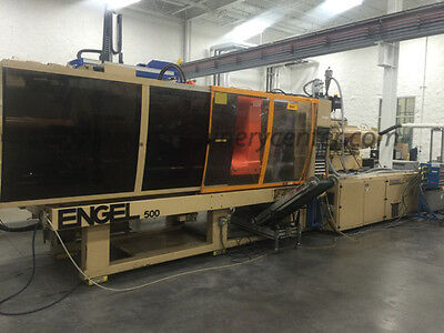 500 Ton, 28.4 Oz. Engel Injection Molding Machine '98