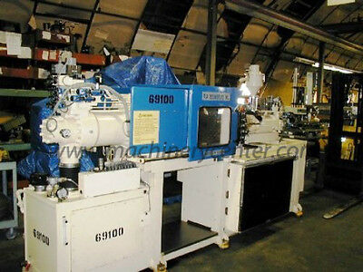 50 Ton, 1.8 Oz Technoplast Injection Molding Machine '92