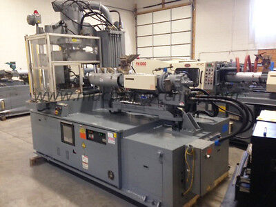 110 Ton, 6.1 Oz. Nissei Rotary Shuttle Press '99