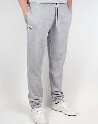 Lacoste Fleece Track Pants in Light Grey - sweat pants joggers tracksuit bottoms
