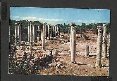 Arthur Dixon  Colour Postcard General View Ruins of Salamis Cyprus posted