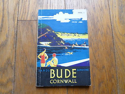 Bude, Cornwall, Official Guide 1955