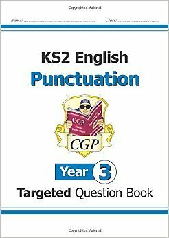 KS2 English Targeted Question Book: Punctuation - Year 3 New Paperback Book CGP