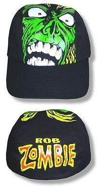 Rob Zombie- NEW Monster Face Hat / Cap- OSFA  SALE FREE SHIPPING TO U.S.!