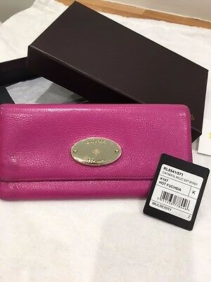 Mulberry Continental Pink Leather Purse Oak - RRP £350