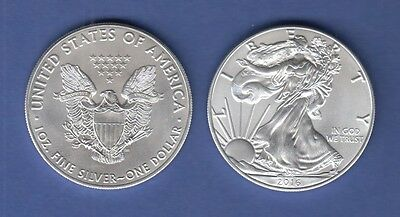 USA Silber-Anlage Münze Walking Liberty / American Eagle Jahrgang 2016 stg