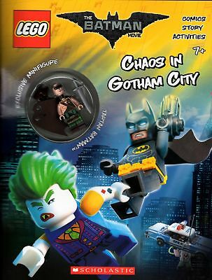 Lego Batman Movie Activity Book With Minifigure (Scholastic)