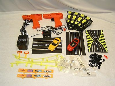 Artin 1:43 Slot Cars, Misc Parts Lot, Track Controllers Transformer + More
