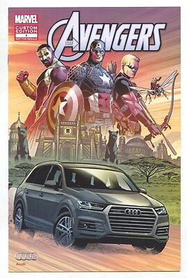 2016 Audi Brochure Marvel Avengers Comic Book my8076
