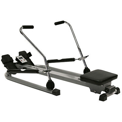 Charles Bentley Twin Dual Hydraulic Rowing Machine Cardio Exercise Weight Loss