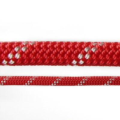 Edelweiss Flashlight II Rock Climbing Safety Rope, 10mm X 30m, Red