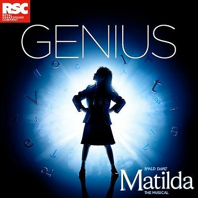 MATILDA Ticket and Meal Package - Show and 2 Course Meal for £75pp