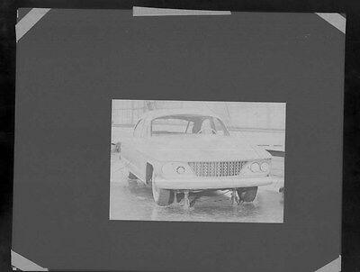 1960 Kaiser IKA Sedan Concept ORIGINAL Factory Photo Negative ww6087