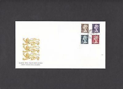 1999 High Values set Royal Mail First Day Cover Windsor Drive CDS. Face £11.50