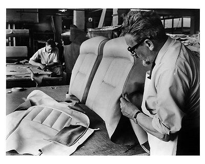 1972 Rolls Royce Upholstery ORIGINAL Factory Photo ouc1326